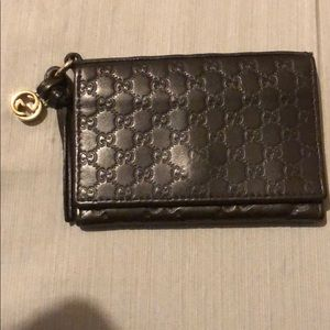 Small brown Gucci wallet